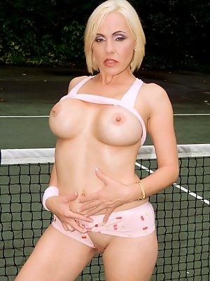 Tennis Court Tease